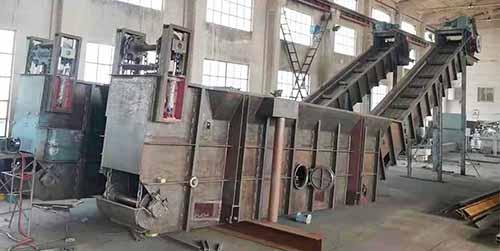 锅炉捞渣设备铸石板的施工工艺!