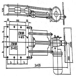D(Q)BM-a系列电(气)动闸板门
